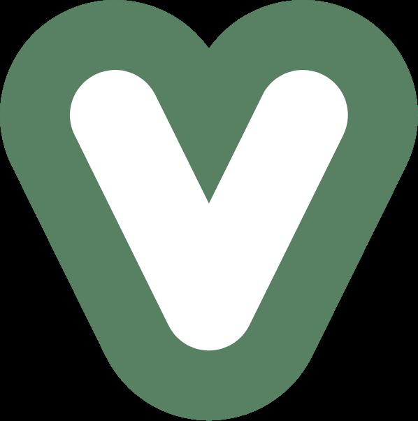 Gros coeur vert