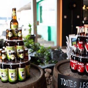 Présentoirs à bière, Madelon Vosges